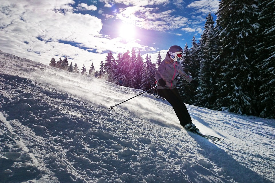 Skiing holiday in the alps from Luton Airport