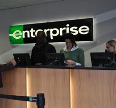 Enterprise Car Hire Manchester Airport Location