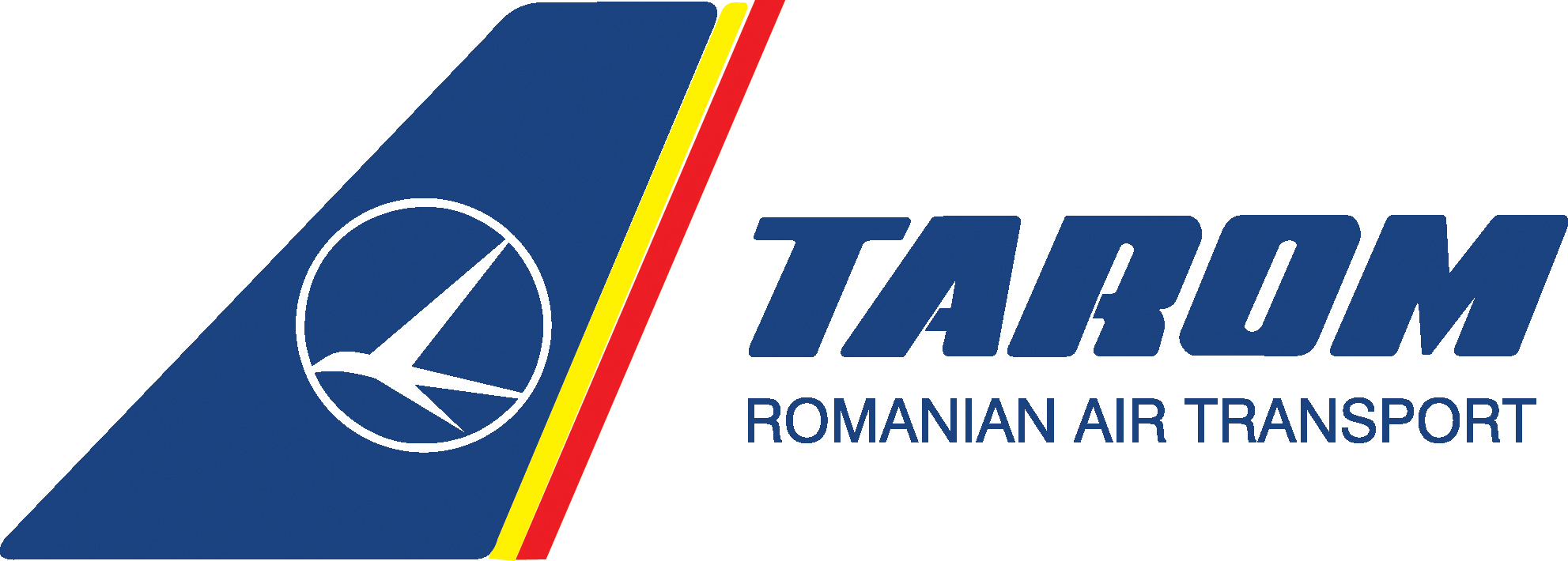 Tarom Romanian Air Logo departing from Luton Airport