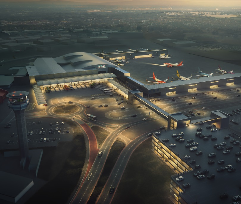 Luton Airport circa 2016