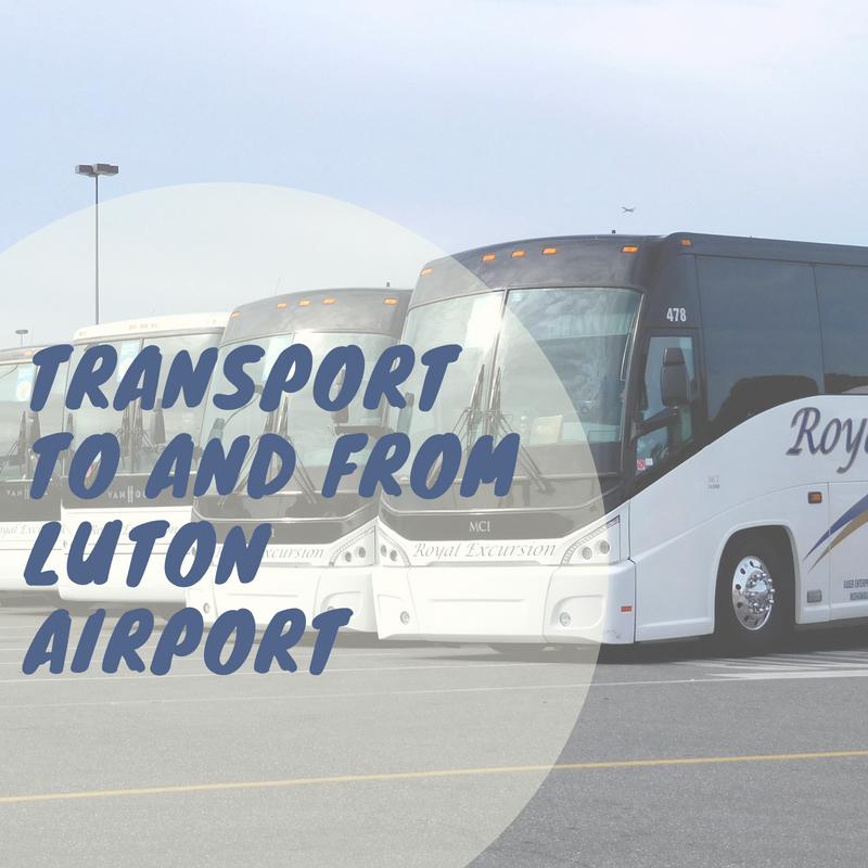 Transport to and from Luton Airport