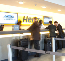 Hiring your car with Hertz is easy at Luton Airport