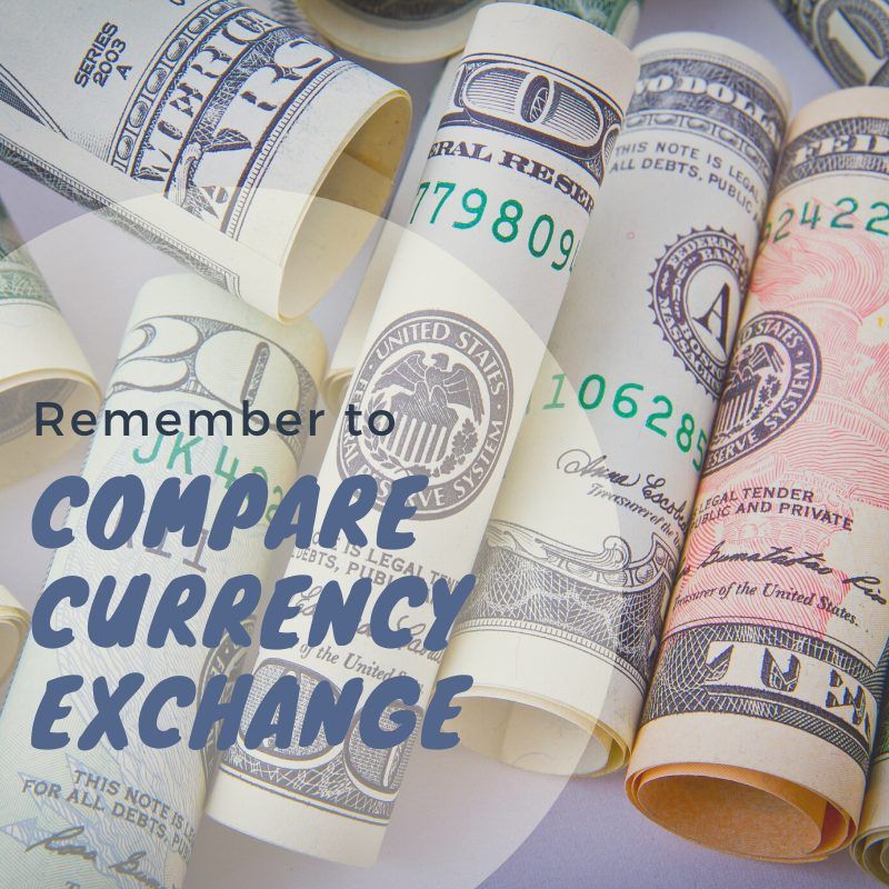 Luton airport Departures - compare currency exchange