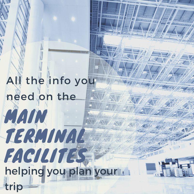 Luton airport Departures - main terminal facilities