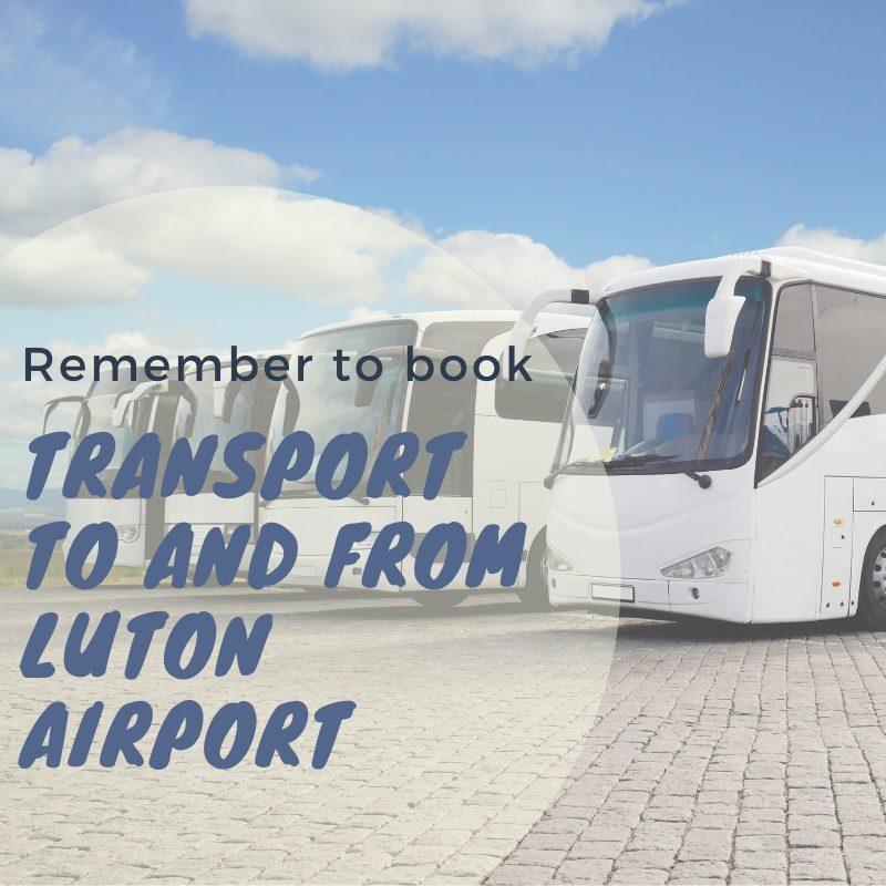 Luton airport transport